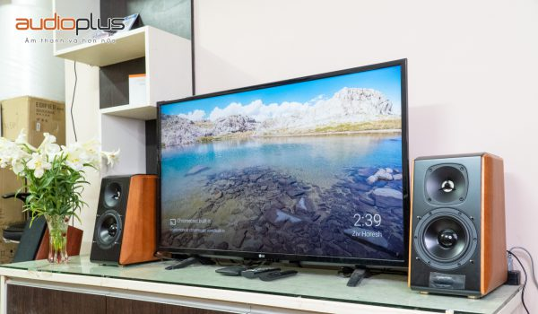 Loa Edifier S2000MKII lắp cùng TV