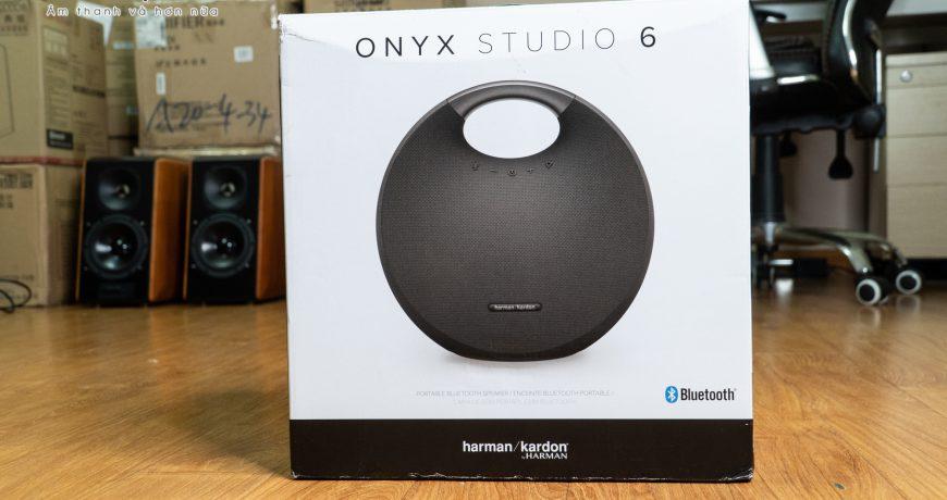Unbox loa Harman Kardon Onyx Studio 6