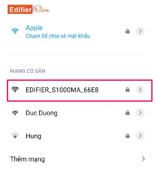 Hướng dẫn sử dụng AirPlay trên Edifier S1000MA