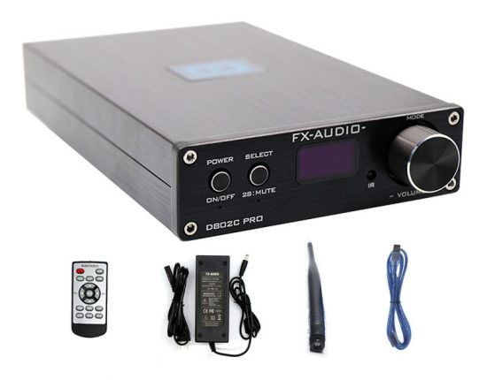 fx audio d802c pro 2