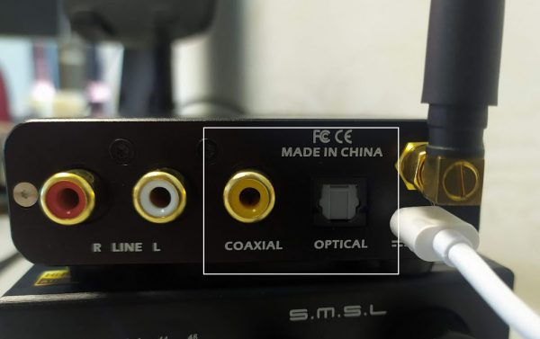 dac giai ma bluetooth smsl b1 optical coaxial