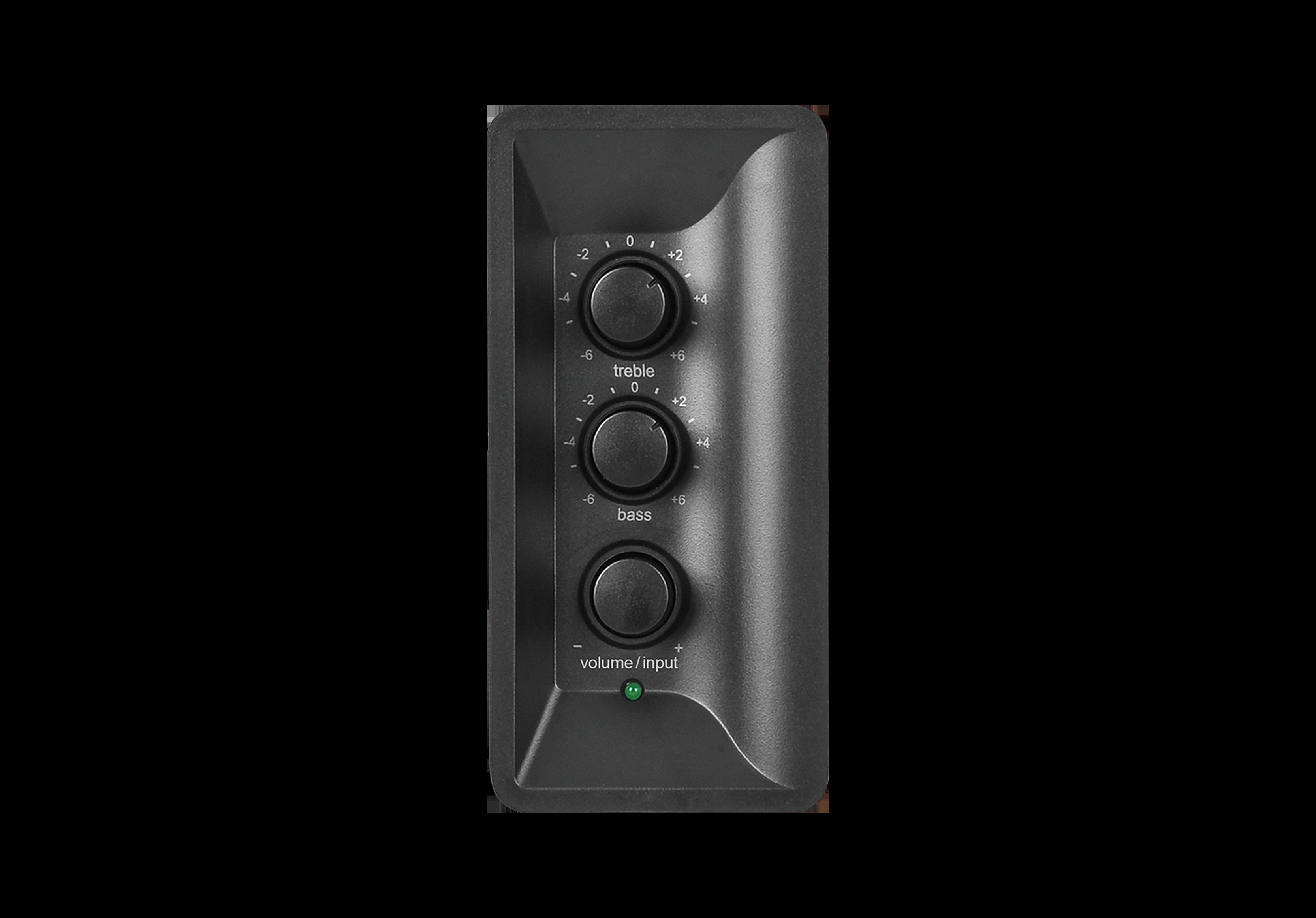 Các nút điều khiển trên loa Edifier R1280DBs