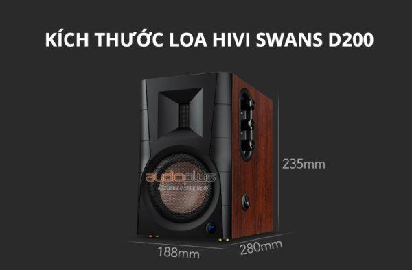 Loa HiVi Swans D200